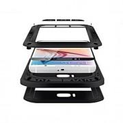 Para Samsung Galaxy Capinhas Impermeável / Antichoque Capinha Corpo Inteiro Capinha Armadura Metal Samsung S6