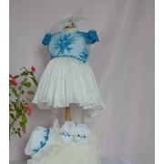 Rochiță Botez Blue-Ciel