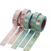 JBFISH 15mm X 10m Washi Tape Decorative Adhesive Tape Decor Decora Diy Scrapbooking Sticker Label Stationery 2025