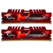 Memorie G.Skill RipJawsX 8GB (2x4GB) DDR3 PC3-14900 CL9 1.5V 1866MHz Intel Z97 Ready Dual Channel Kit, F3-14900CL9D-8GBXL