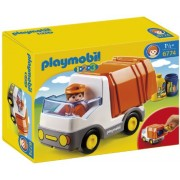 Playmobil 1 2 3 Recycling Truck, Multi Color