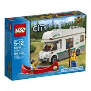 LEGO City Great Vehicles 60057 Camper Van Plaything, Amusement, Play, Toys, Game by Toys For Play