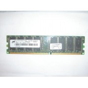 MT - Mémoire - 256 Mo - DIMM 184 broches - DDR - 266MHz - PC2100U