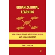 Organizational Learning by Jerry L. Wellman