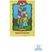 Capra cu trei iezi - Carte de colorat