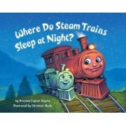 Where Do Steam Trains Sleep At Night? by Brianna Caplan Sayres