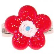 Ringetje bloem rood