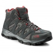 Туристически THE NORTH FACE - Storm Hike Mid Gtx (Eu) GORE-TEX T939VYTCP Dark Shadow Grey/Rudy Red