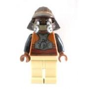 LEGO Star Wars: Lando Calrissian - Skiff Guardia (Nuevo Estilo) Minifigura