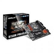 ASRock b150 m pro4s/D3 Carte mère (Intel B150 Rouleau, S, 1151, DDR3/DDR3L, SATA3 6 Gb/s)