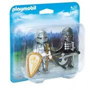 Playmobil Knights Knights' Rivalry Duo Pack - figuras de construcción (Playmobil, Multi, De plástico, Cualquier género)