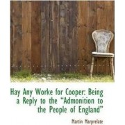 Hay Any Worke for Cooper by Martin Marprelate