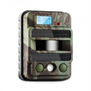 DURAMAXX GRIZZLY MAX PIR Wildkamera Fotofalle 40 Black LEDs 8 MP HD USB SD 100°