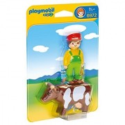 PLAYMOBIL Farmer with Cow