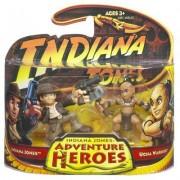 INDIANA JONES and UGHA WARRIOR * Indiana Jones Adventure Heroes * Indiana Jones and the Kingdom of the Crystal Skull 2 Pack