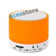 Bezprzewodowy MINI Głośnik Bluetooth z systemem Bass Xpansion - Pomarańczowy