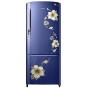 Samsung 192 L 3 Star Direct Cool Refrigerator (RR20M172ZU2/RR20M272ZU2 , Star Flower Blue)