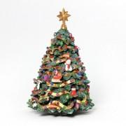 Jingle Bell Rotating Christmas Holiday Musical Tree San Francisco Music Box Company