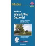 Fietskaart SAA01 Bikeline Radkarte Altmark West - Salzwedel | Esterbauer