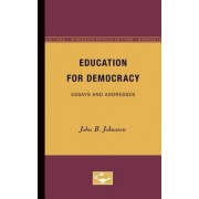 Education for Democracy by Professor of English and Comparative Literature John Johnston