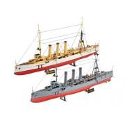 Revell 1:350 WWI Cruisers SMS Dresden & SMS Emden RV05500