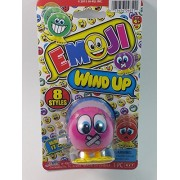 "Emoji 3"" Wind Up Toy Pink Zip It!! (Lips Sealed) Face Figure"