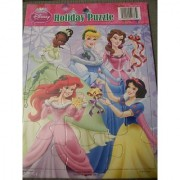 Disney Princess Holiday Puzzle (5 Princesses)