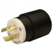 Reliance Controls Corporation L1430P 30 Amp 125/250 VAC Male Cord Plug for Generator Cords (L1430 Rating = 7 500 Watts)