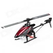 Walkera Maestro CP 6 canales de radio control R / C Helicoptero con DEVO 7E mando a distancia - Rojo + Negro