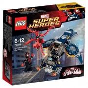 LEGO - 76036 - Marvel Super Heroes - L'Attaque Aérienne de Carnage contre Le Shield