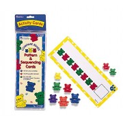Learning Resources Compare Bears Pattern Cards - Juego educativo para niños, multicolor