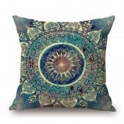 rosegal Mandala Decorative Linen Sofa Pillowcase