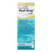 BAUSCH & LOMB Hyal-Drop Multi 10 ml. dioptrie: +5.00, zakřivení: , průměr: