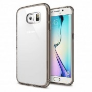 Husa Protectie Spate Ringke Fusion Smoke Black + Bonus folie protectie display pentru Samsung Galaxy S6 Edge Plus