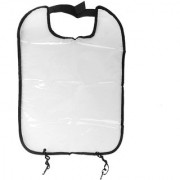 Car Seat Back Protector Cover Backseat For Baby Child Kick Mat - Clear With Black Trim