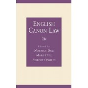 English Canon Law by Norman Doe