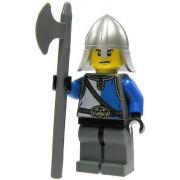 LEGO Castle LOOSE Minifigure Kings Knight with Pole Axe
