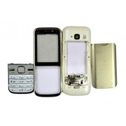 TOTTA Replacement Full Body Housing Back, Body Panel For Nokia C5 - White