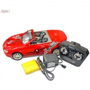 1:16 Scale Red Convertible RC Car Model With Full Function Remote