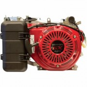 Honda Engines Horizontal OHV Engine for Generators with Electric Start (389cc, GX Series, Tapered 7/8 Inch x 5 1/16 Inch Shaft, Model: GX390RT2VWE)