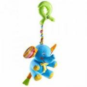 Плюшена играчка за количка - малки умничета - слонче, Tiny love, 076655