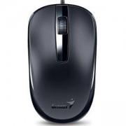 Мишка GENIUS DX-120 USB, Оптична, Черна, 31010105100