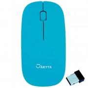 Mouse Akyta AM4 USB Wireless Blue