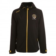 AFL Ladies Premium Softshell Jacket Richmond Tigers [Size:10]