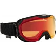 Alpina Pheos S Goggle QMM/S3 black matt/red 2016 Goggles