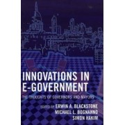 Innovations in e-Government by Erwin A. Blackstone