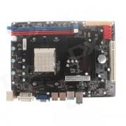 C68 Socket AM2 / AM2+ / AM3 Phenom II / Athlon II Computer Motherboard - Black + Red