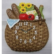 Atlanta Reloj de cocina Analog Multicolor 6104