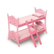 Badger Basket Blossoms and Butterflies Doll Bunk Beds with Ladder (fits American Girl dolls) by Badger Basket