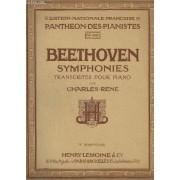 Symphonies Transcrites Pour Le Piano - Symphonie N° 9 - N°1188 Op.125 En Re Mineur (Avec Choeurs).